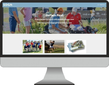 EDGA Golf Website